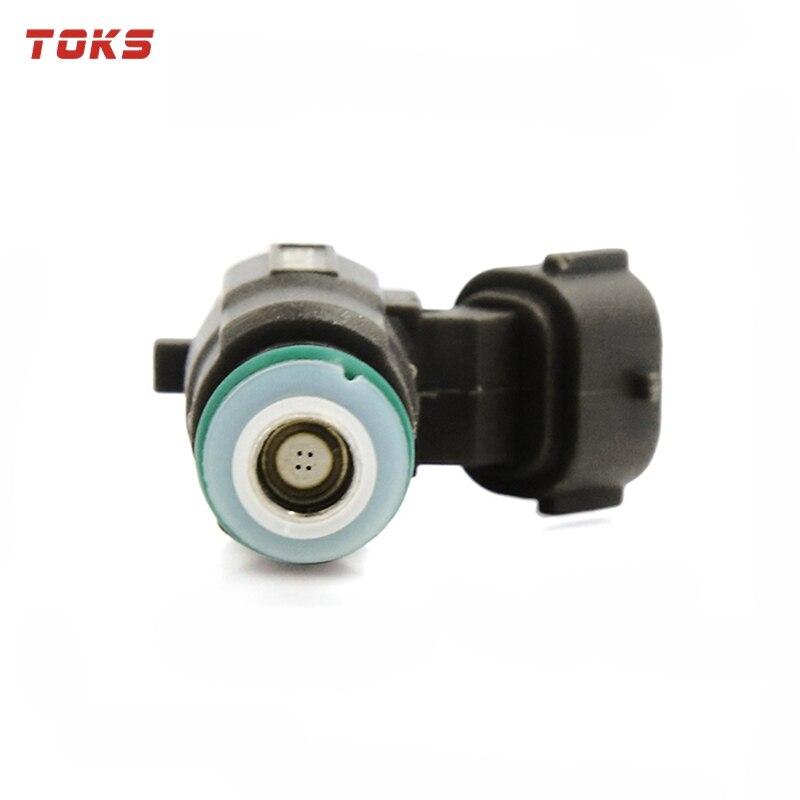 TOKS, 6 uds., 16600-5L700, boquilla de inyector de combustible FBJC100 para Nissan Infinity 2,0 3,0 3,5 V6, motor 166005L700