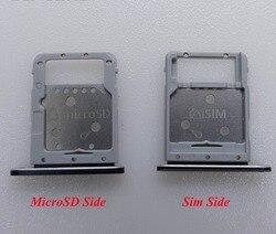 Novo Cartão Sim Tray Titular Slot Para Cartão MicroSD Para Cartão Para Samsung Galaxy Tab S4 10.5 T835 T830 T837