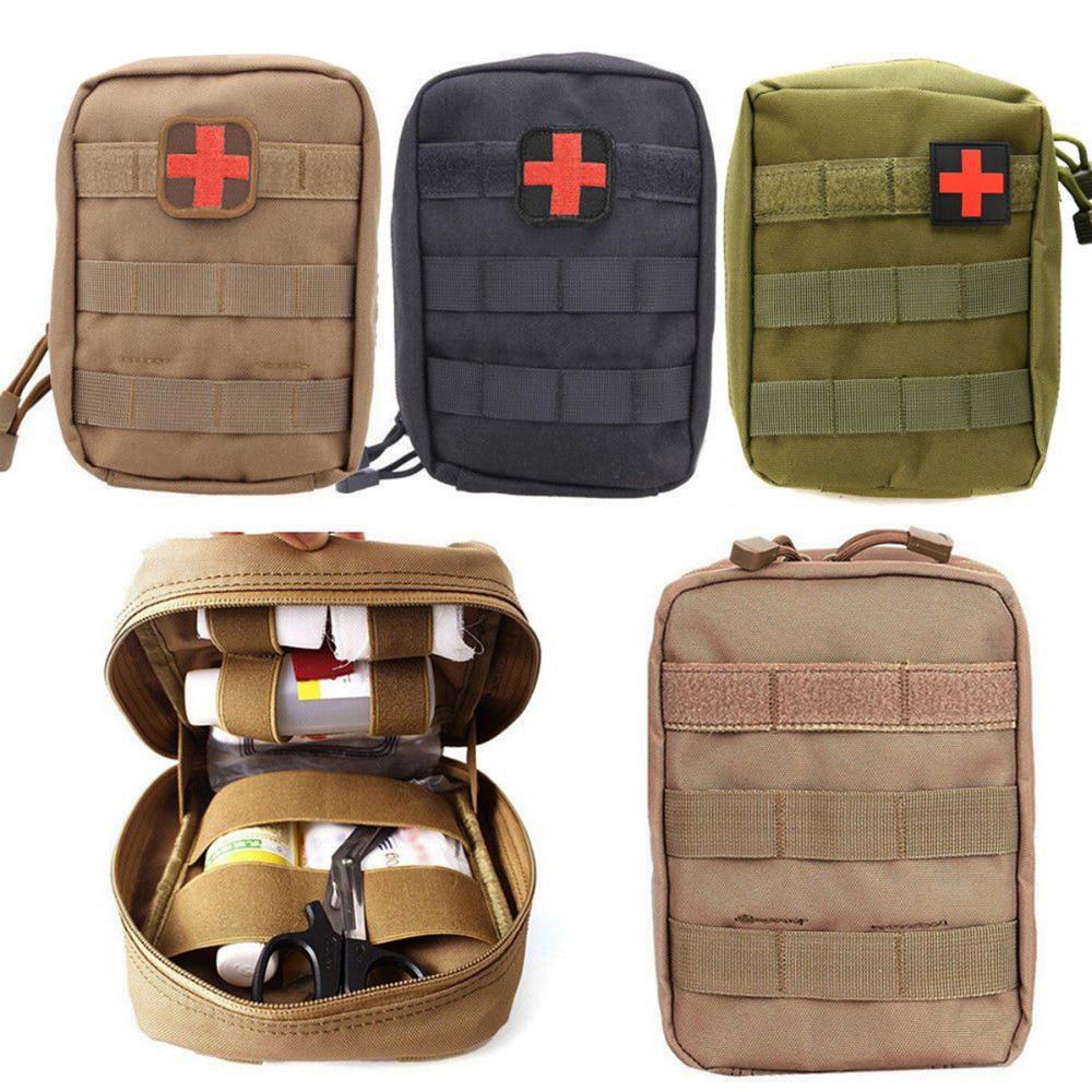 Molle EMT Kit de primeros auxilios, bolsa de supervivencia EMS, Kit médico táctico múltiple, bolsa de cinturón de herramientas de utilidad para exteriores