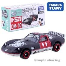Takara Tomy Tomica Disney Motors DM 10 Mickey roadster model kit Diecast miniature CAR toy magic baby toys funny bauble