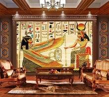 beibehang Custom Wallpaper 3d Stereo Photo Mural Egyptian Backstreet Living Room Bedroom wallpaper for walls 3 d papel de parede