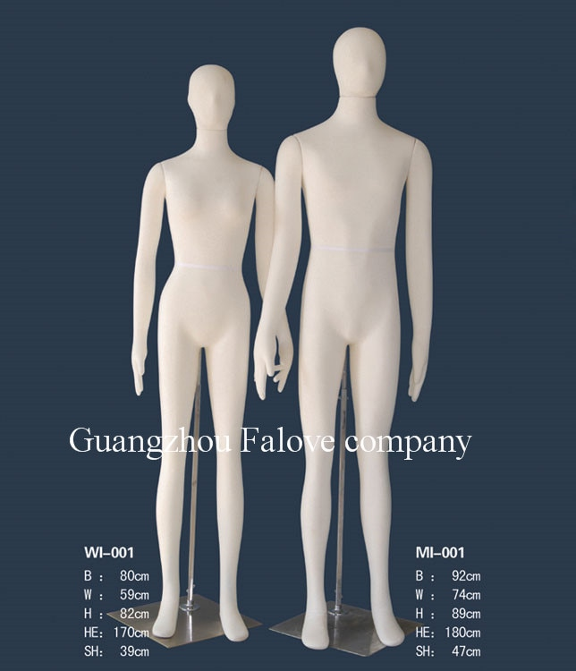 Adult Flexible Foam Mannequins Male&Female Full Body Bendable Mannequin Shop Display Bendy Mannequin Car Test Clothes Mannequin
