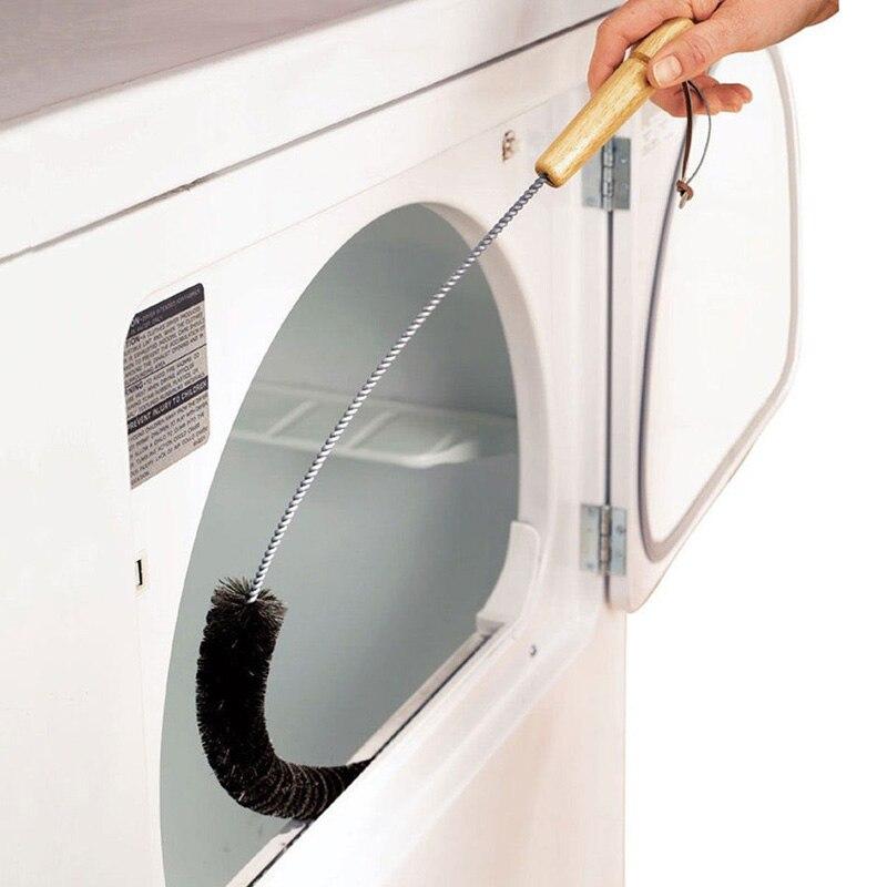 1 Uds. Cepillo de limpieza del condensador del refrigerador Coll secador de ropa trampa de ventilación cepillo de limpieza plegable cepillo de limpieza del hogar