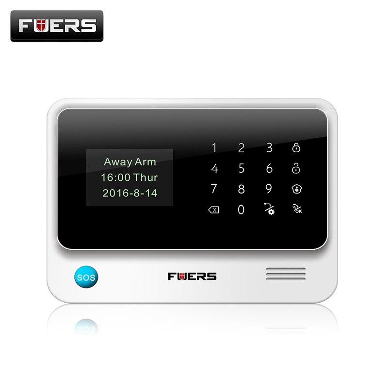 Système dalarme WIFI gsm 100% G90B Plus   Original, 2G, clavier tactile, IOS Android APP, pour cambrioleur à la maison, Wifi/GSM/GPRS/SMS
