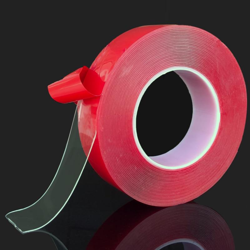 Dupla face fita adesiva gel acrílico transparente dupla face fita carro adesivo dupla face fita adesiva adesivo para carro