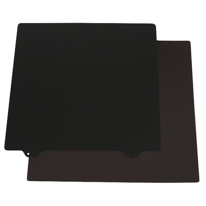 Accesorios para cama caliente de impresora 3D 235 pegatinas magnéticas lado B + textura de doble capa Pei placa de acero en polvo para Ender-3/3S/3Pro