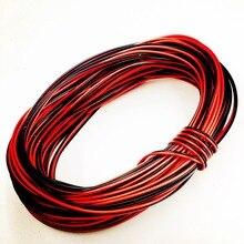 Cordon de connecteur de fil dextension   De 5m/10m/20m/ 30m 22awg 20AWG 2Pin pour bande 3528/5050/5630 simple