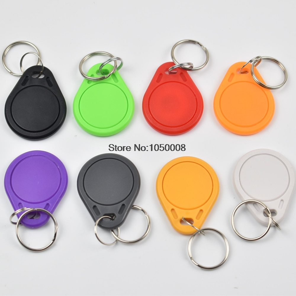 100 шт./лот RFID брелоки чип 13,56 МГц близость NFC теги NTAG213 брелок тег для всех продуктов nfc