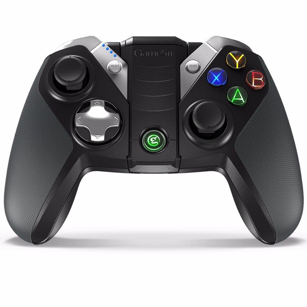 Gamesir G4 controlador inalámbrico bluetooth para el teléfono inteligente android tv box tablet vr juegos wired gamepad para pc