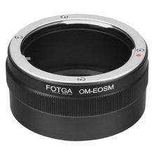 Fotga переходное кольцо для Olympus OM Крепление объектива для Canon EF-EOS M беззеркальная камера для ef/объектив EFS