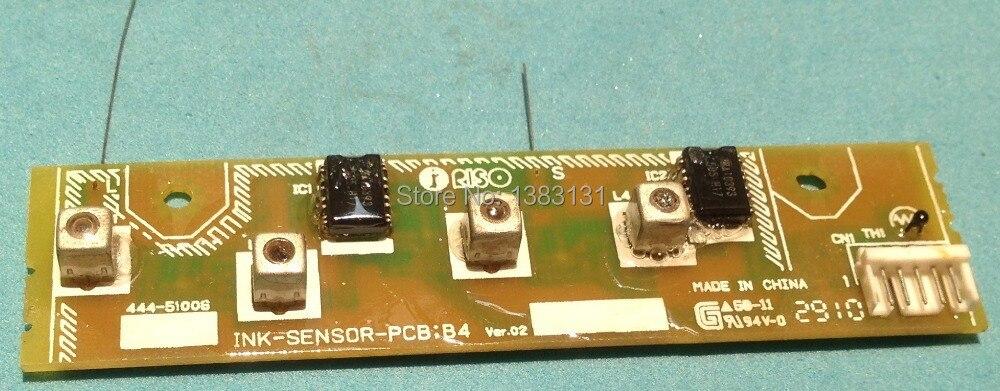 Novo 444-51006 SENSOR DE TINTA PCB apto para Duplicador RISO EV RV RZ B4 FRETE GRÁTIS