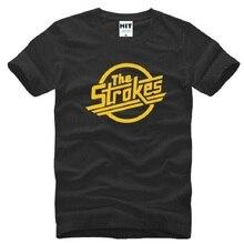 Nouveau concepteur les coups t-shirts hommes coton à manches courtes Indie Rock Band hommes T-Shirt Style britannique mâle musique Rock T-Shirt