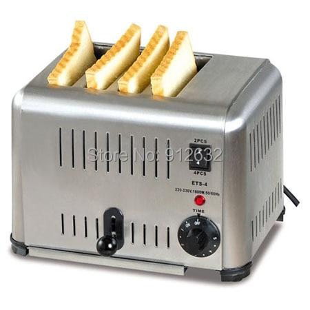 Tostadora de pan de 4 piezas, tostadora de pan de 4 piezas, tostadora eléctrica de pan, tostadora transportadora eléctrica