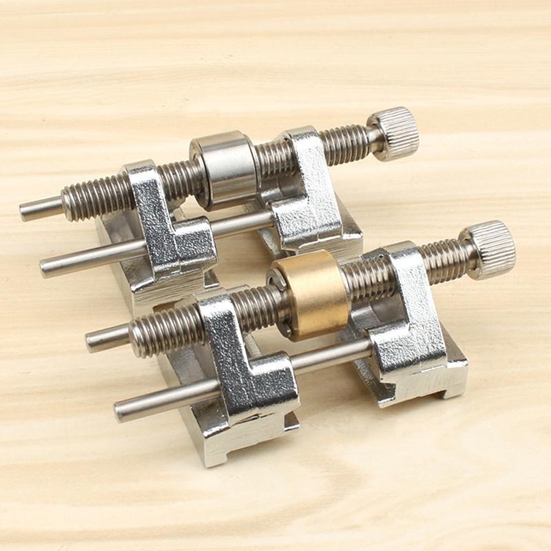 Abrazadera lateral de acero inoxidable LanLan, guía de rectificado de ángulo fijo para la hoja del cincel de madera, afilado de borde de cincel plano