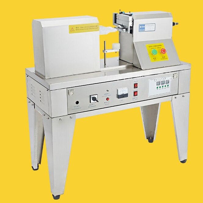 Máquina plástica ultrassônica da selagem da mangueira 220 v 1200 w de aço inoxidável-máquina da selagem para o leite de limpeza HoseQDFM-125