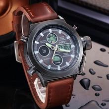 2021 New AMST Watches Men Luxury Brand 5ATM 50m Dive LED Digital Analog Quartz Watches Male Fashion