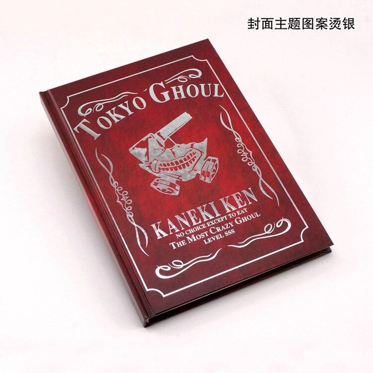 Tokyo Ghoul Notebook anime Tokyo Ghoul Kaneki Ken Hohe-grade hardcover kraft papier notebook kostenloser versand