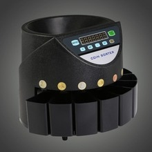 VEVOR otomatik elektronik para sıralayıcısı ve bozuk para sayma makinesi nakit para sayma makinesi Euro paraları