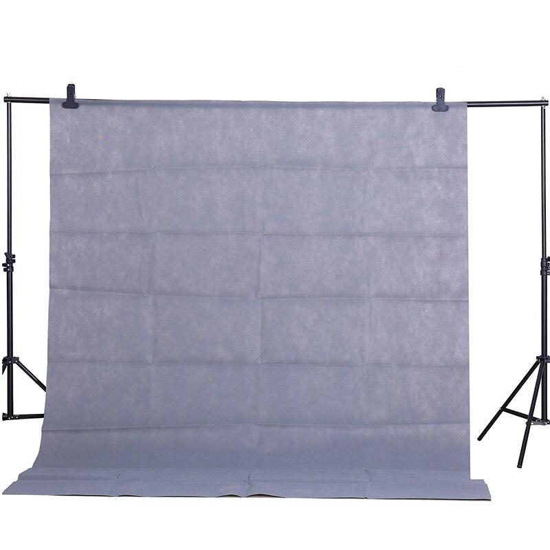 Тканевый фон для студийной фотосъемки CY, серый, 1,6x2 м, не загрязняющий материал