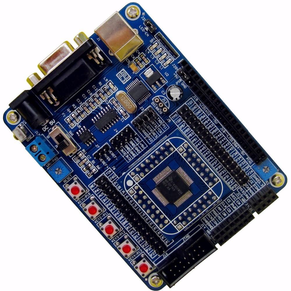 MSP430F149 Placa de desarrollo MSP430 desarrollo del sistema más pequeño con un programador