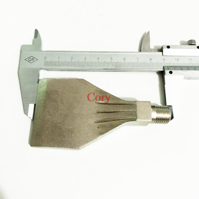 1 шт., воздуходувка из нержавеющей стали, воздуходувка, плоская воздушная насадка, воздушный нож 1/4 , 16 отверстий, струйная очистка и выдуван...