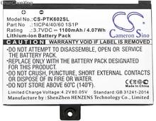 Cameron Sino 1100mAh batterie 1ICP4/40/60 1S1P pour Pocketbook Pro 602/603/612/902/903/912/920/920.W