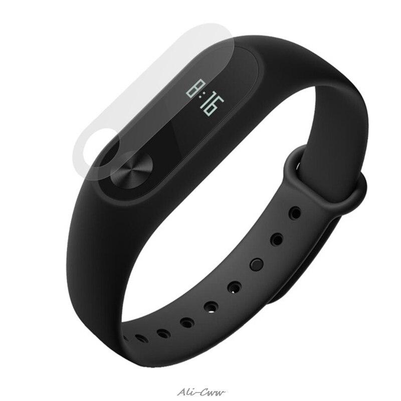 Protector de pantalla Anti-rayado de película HD para Xiaomi Miband 2 pulsera de correa inteligente