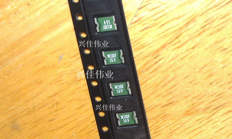 100 unids/lote 1812 SMD auto-recuperación fusible/fusible 1000MA 1A 16 V msmd100-16V nuevo