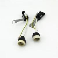 free shipping 2pcslot gu10 socket base connector gu10 ceramic holder gu10 halogen socket