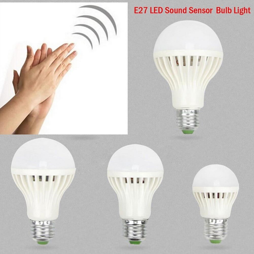3 Вт 5 Вт 7 Вт 12 Вт 220 В умная лампа ходовой звук/голосовой датчик светодиодный светильник PIR индукционный светильник для двери лестничный светильник ing