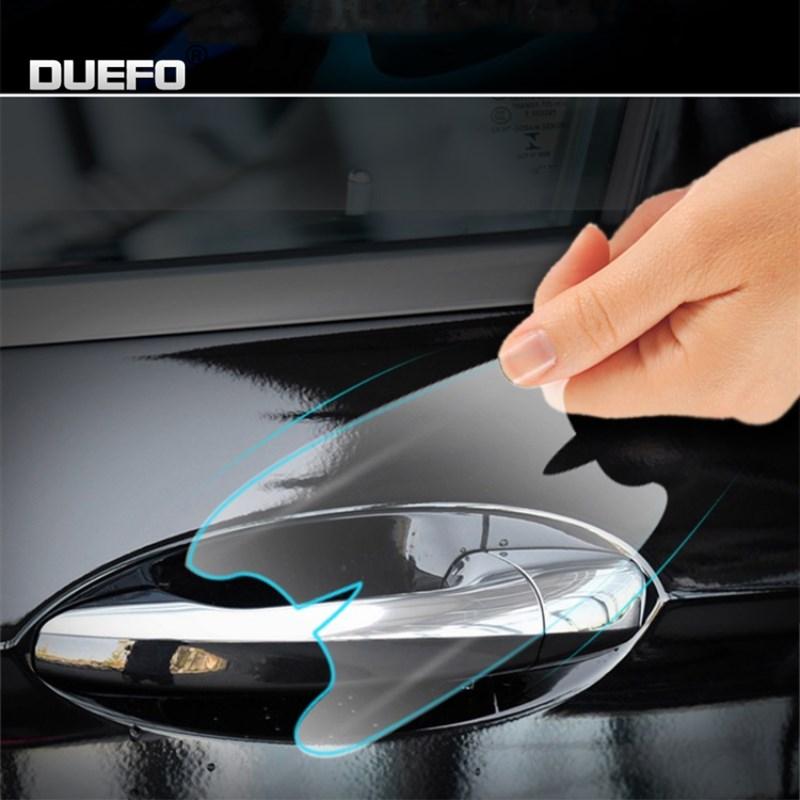 Película adhesiva protectora de manija de puerta de coche de TPU, accesorios para Volvo XC60, S60, S40, S80, V40, V60, v70, v50, 850, c30, XC90 y v90