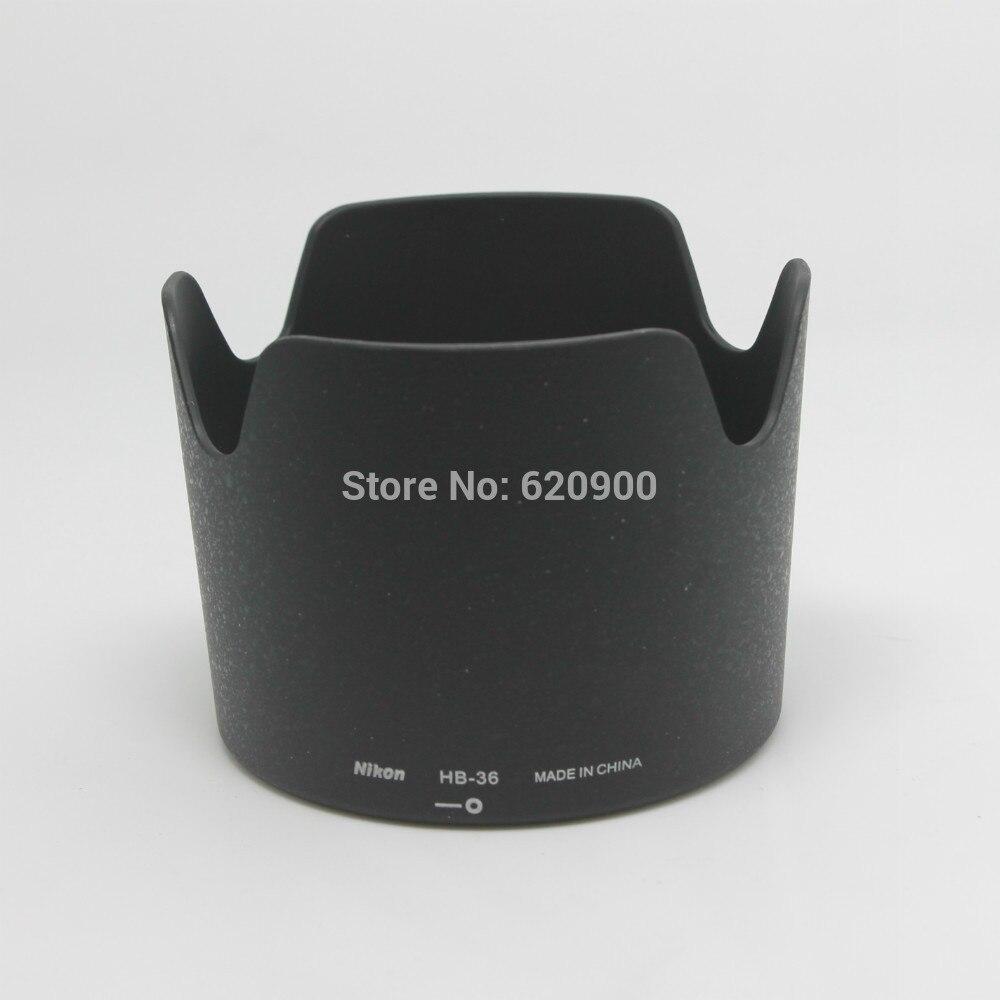 Venta al por mayor HB-36 profesional bayoneta montaje lente Hood para Nikon VR70-300/4,5-5,6G