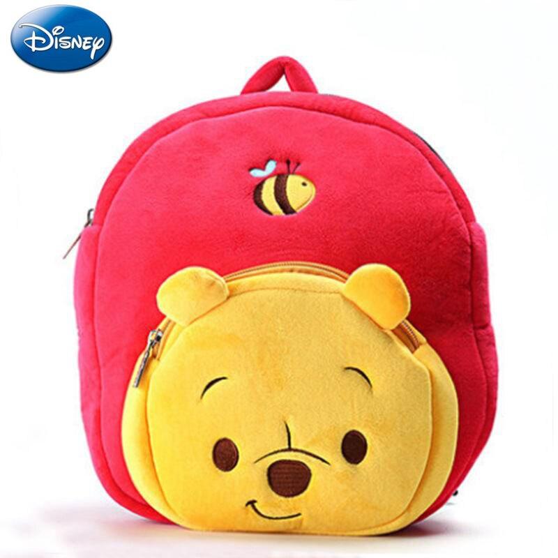 Mochila de 30 cm, mochila de felpa Winnie de Disney the Pooh, mochilas de Minnie, mochilas para niñas pequeñas, mochila de Mickey Mousechildren