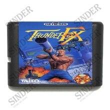 Thunder Fox 16 bits MD carte de jeu pour Sega Mega Drive pour Genesis