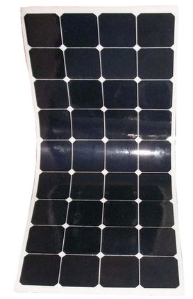 Semi Flexible Solar Panel 100W Free Shipping Light Weight 21% charging efficiency 25 years warranty