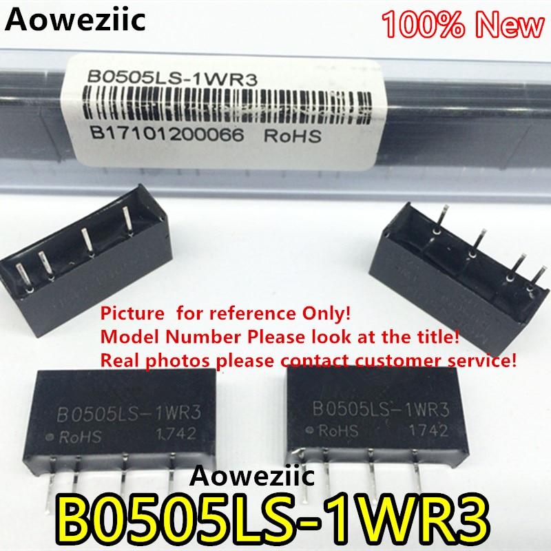 Aoweziic 5 unids/lote B0505LS-1WR3 B0505LS-1W nuevo Original de entrada 4,5 V-5 V de salida + 5V 0.2A... DC-DC 1500VDC aislar