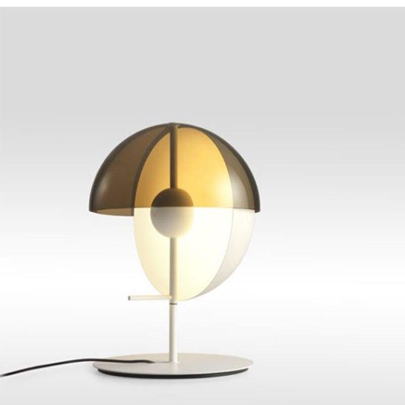 آخر-الحديثة مصمم المطاوع الحديد مصباح فيلا غرفة نوم السرير الجدول دراسة الإبداعية جولة الجدول مصباح