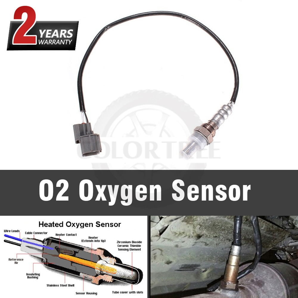 Sensor de oxígeno O2 de 4 pines para Honda Civic Odyssey CR-V accura Integra Isuzu Oasis 36531P2RA01 2340002311 1 piezas