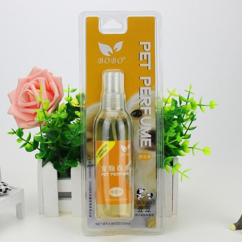 Perfume antifungal para mascotas, 120ml, perfume sakura