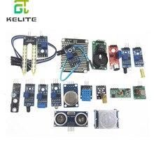 16 sztuk/partia Raspberry Pi 3 i Raspberry Pi 2 Model B pakiet modułu czujnika 16 rodzajów czujników