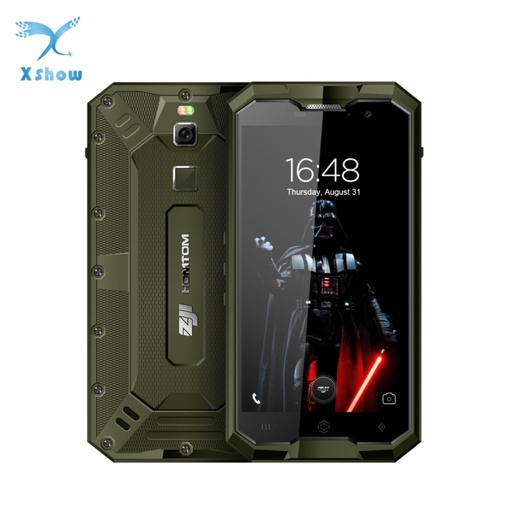HOMTOM ZOJI Z8 IP68 teléfono móvil huella dactilar 4G 5,0 pulgadas Android 7,0 4GB de RAM + 64GB ROM MTK6750 Octa core 13 + 16MP 4250mAh Cámara