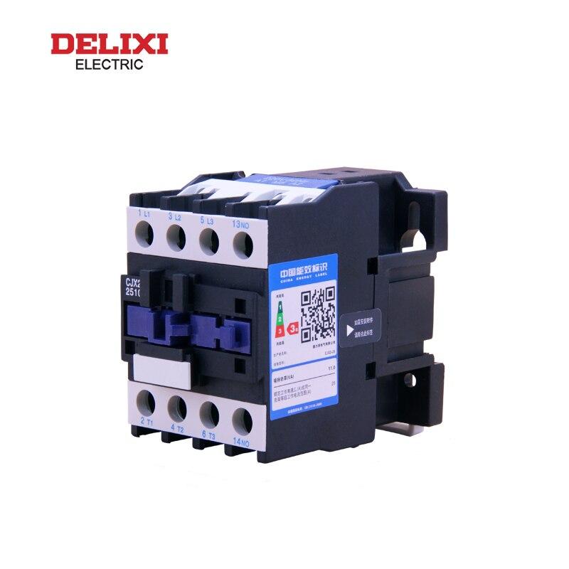 CJX2 DELIXI AC قواطع CJX2-8011 CJX2-9511