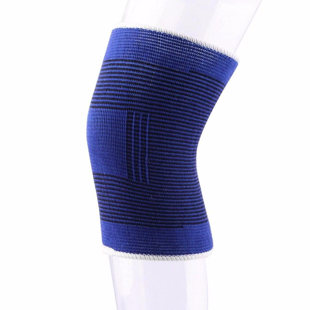 1 ud. Rodillera elástica para baloncesto voleibol Protector deportivo vendaje artritis gran oferta
