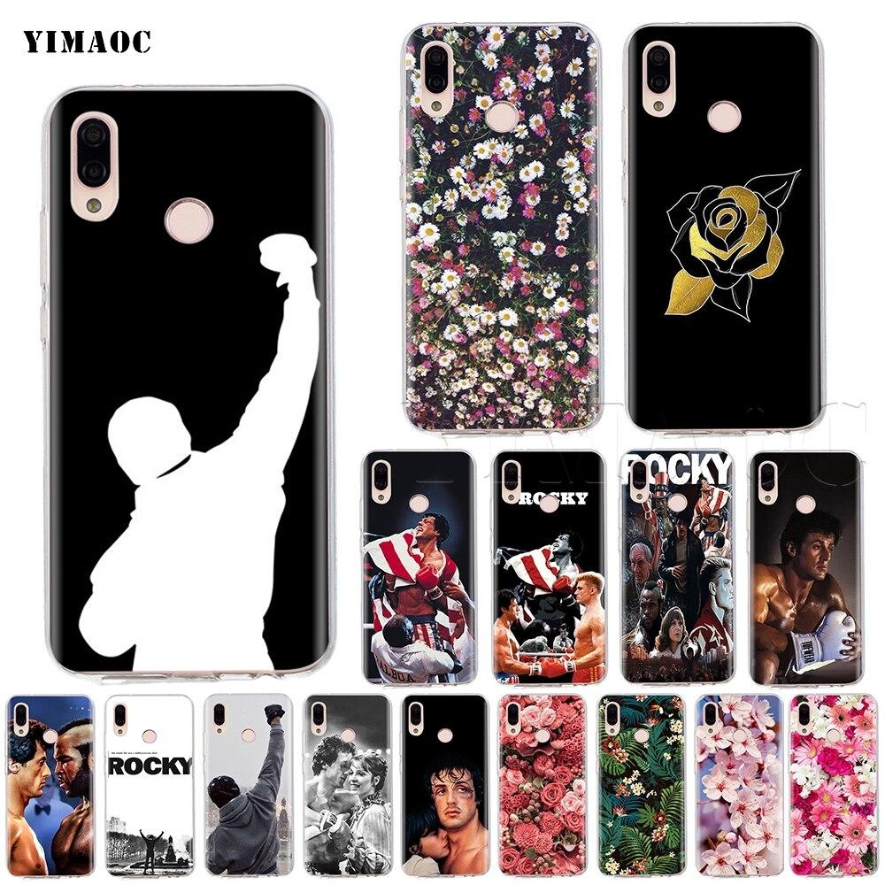 Funda de silicona de YIMAOC Rocky Balboa para Huawei Honor Y7 Y9 8C P smart prime 2018 2019