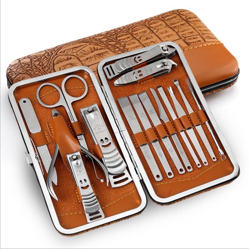 15 in 1 nail clipper finger Plier scissors knife Nail Cuticle Nipper Clipper Scissor Dead Skin Remover Manicure Nail Art Tool