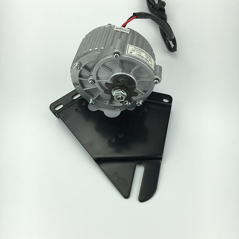 MY1018 Electric DC Motor 24V 250W Gear Brushed Motor Ebike Rear Fork Support Engine For Light E.V Bicycle E-Bike Motor Parts