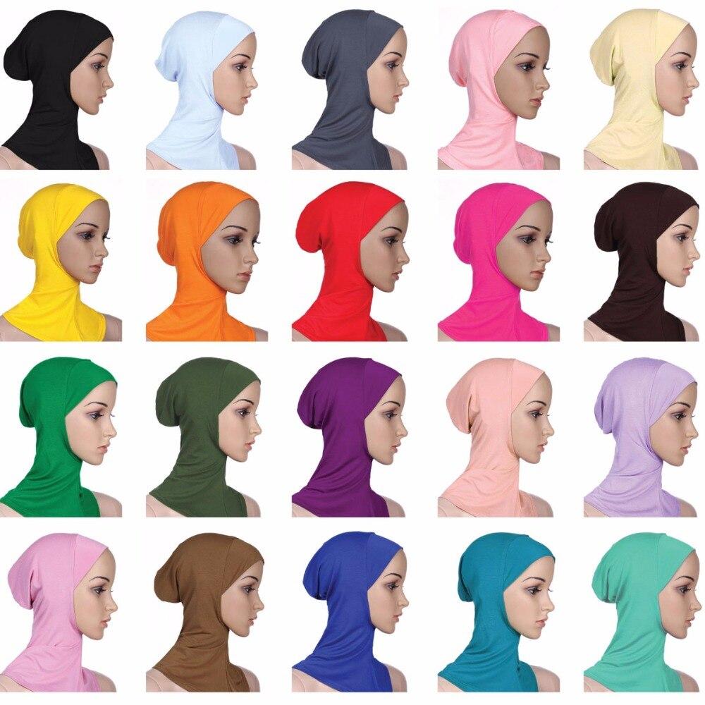 Mulheres Turbante Hijab Muçulmano Tampas de Alta Qualidade Modal Foulard Mujer Femme Musulman Véu Panuelos Mujer Musulmana Capot Hijab