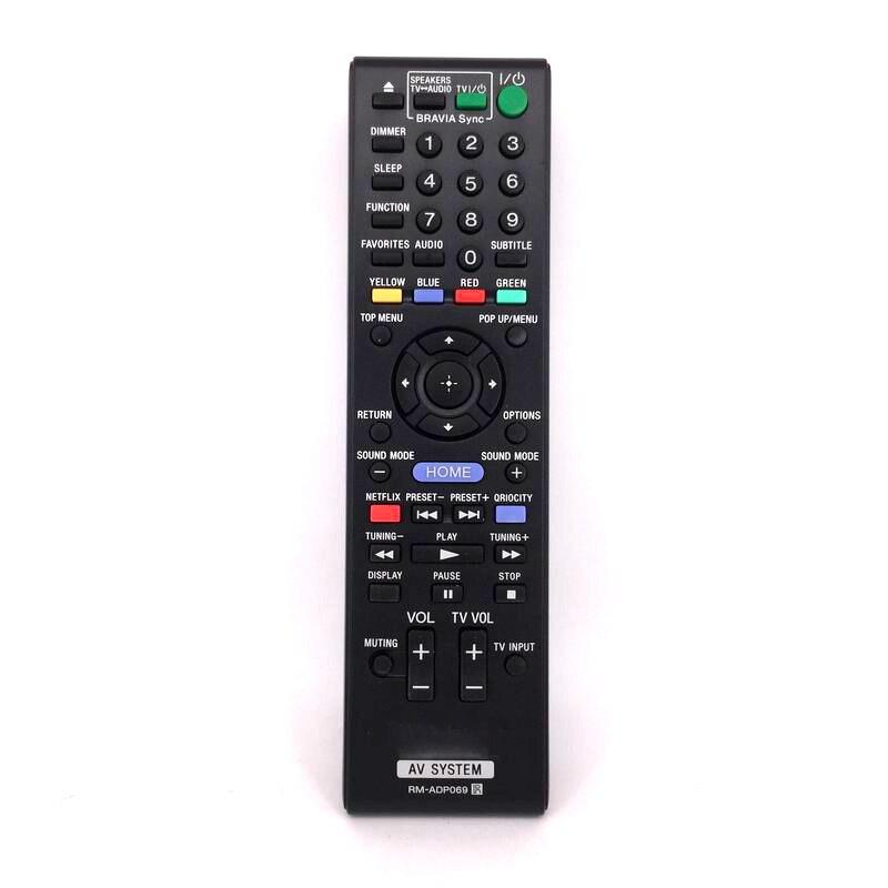 Nueva reemplazar Control remoto RM-ADP069 para Sony AV BDV-N890W/Z BDV-T57 BDV-F7 HBD-F7...