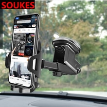 Car Windshiled Telescopic Suction Cup Phone Holder For Audi A4 B7 B5 A6 C6 Q5 Honda Civic 2006-2011 Fit Accord CRV