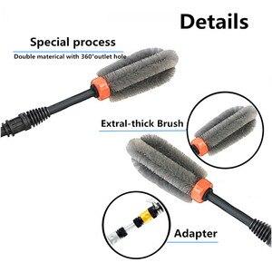 Image 4 - Автомобильная щетка для автомойки, автоматическая щетка для мойки на 360 градусов, ручной инструмент для мытья
